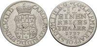 1/12 Taler 1737  IB Waldeck Karl August Friedrich 1728-1763. Kl.durchge... 195,00 EUR  +  5,00 EUR shipping