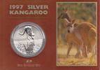 1 Dollar 1997 Australia Australia Kangaroo Frosted in Coincard  54,95 EUR  +  10,00 EUR shipping