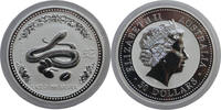30 Dollar 2001 Australia Lunar I Year of the Snake Very Rare Bu in Caps... 995,00 EUR free shipping