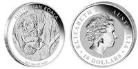 10 Dollar 2013 Australia Koala 10 Ounces Silver! Unc in Capsule  294,95 EUR  +  10,00 EUR shipping