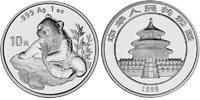 """10 Yuan 1998 China Pandabear """"SMALL DATE"""" Bu in Capsule!  139,50 EUR  +  10,00 EUR shipping"""