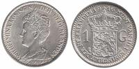 1 Guilder 1916 Netherlands Wilhelmina 1890 - 1948 Extremely Fine +  144,50 EUR  +  10,00 EUR shipping