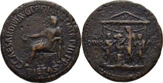Sesterz 39-40 RÖMISCHE KAISERZEIT Caligula...