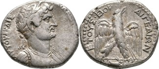 Tetradrachme 131-134 Aigeai in Kilikien Ha...