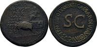 Sesterz 22-23 RÖMISCHE KAISERZEIT Divus Augustus unter Tiberius, 14-37.... 500,00 EUR