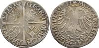 6 Kreuzer 1531 Brandenburg in Franken Schwabach Georg, 1527-1536 Gewell... 395,00 EUR free shipping