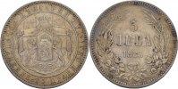 Bulgarien 5 Leva Alexander I.