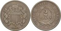 2 Cents 1865 USA  ss  47,00 EUR  +  3,00 EUR shipping