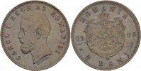 2 Bani 1900 Romania Carol I., 1866-1914 vz+  45,00 EUR