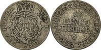 Sachsen Coburg Saalfeld 1/12 Taler Ernst Friedrich 1764-1800.