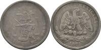 50 Centavos 1871 Mexico  ss  40,00 EUR