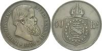 40 Reis 1879 Brasilien Pedro II., 1831-1889. ss  20,00 EUR  zzgl. 3,00 EUR Versand