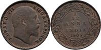 1/12 Anna 1905 British India Edward VII., 1901-1910 Fast Stempelglanz  85,00 EUR  zzgl. 3,00 EUR Versand
