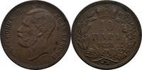 10 Para 1868 Serbien Michael III. Obrenovic, 1839 - 1868 fss/ss  15,00 EUR  zzgl. 3,00 EUR Versand