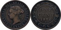 1 Cent 1876 H Kanada Victoria, 1837-1901 ss  10,00 EUR  zzgl. 3,00 EUR Versand