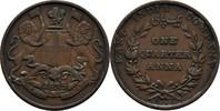 1/4 Anna 1835 Britisch East India William IV., 1830-37 ss  15,00 EUR  zzgl. 3,00 EUR Versand