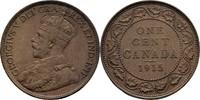 1 Cent 1915 Kanada George V., 1910-36 vz  15,00 EUR  zzgl. 3,00 EUR Versand