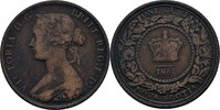 1 Cent 1861 Kanada - Neuschottland Victoria, 1837-1901 fast ss  7,00 EUR  zzgl. 3,00 EUR Versand