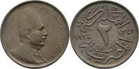 2 Milliemes 1924 H Ägypten Fuad I., 1922-36 fast vorzüglich  20,00 EUR  zzgl. 3,00 EUR Versand