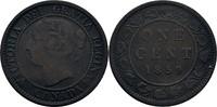 1 Cent 1859 Kanada Victoria, 1837-1901 ss-  25,00 EUR  zzgl. 3,00 EUR Versand
