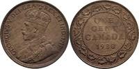 1 Cent 1920 Kanada George V., 1910-36 vz  10,00 EUR  zzgl. 3,00 EUR Versand