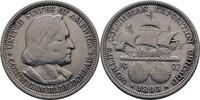 1/2 Dollar 1893 USA Kolumbus ss  18,00 EUR  zzgl. 3,00 EUR Versand