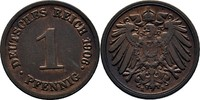 Pfennig 1906 E Deutsches Reich  Prägeschwächen,vz  8,00 EUR  zzgl. 3,00 EUR Versand