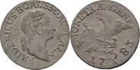 3 Gröscher 1783 A Preussen Berlin Friedrich II., 1740-1786 Prägefrisch  75,00 EUR  zzgl. 3,00 EUR Versand