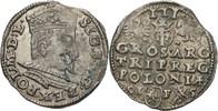 Dreigröscher Trojak 1595 Polen Lublin Sigismund III., 1587-1632 Zainend... 250,00 EUR kostenloser Versand