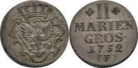 2 Mariengroschen 1752 Preussen Friedrich II., 1740-1786 ss  50,00 EUR  zzgl. 3,00 EUR Versand