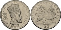 25 Matonas 1923 Äthiopien Zauditu, 1916-30 fast prägefrisch  50,00 EUR  zzgl. 3,00 EUR Versand