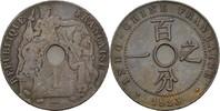 1 Centime 1923 Französ. Indochina  ss  10,00 EUR  zzgl. 3,00 EUR Versand