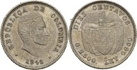 10 Centavos 1942 B Kolumbien  vz+  15,00 EUR  zzgl. 3,00 EUR Versand