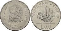 1000 Lire 1978 San Marino 150. Geburtstag Tolstoi vz+  17,00 EUR  zzgl. 3,00 EUR Versand