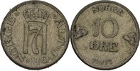 10 Öre 1917 Norwegen Haakon VII., 1905-57 vz  20,00 EUR  zzgl. 3,00 EUR Versand