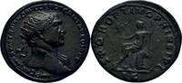 Dupondius 107 RÖMISCHE KAISERZEIT Trajan, 98-117 ss  300,00 EUR kostenloser Versand