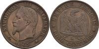 5 Centimes 1863 A Frankreich Napoleon III., 1852-70 vz  25,00 EUR  +  3,00 EUR shipping