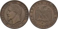5 Centimes 1863 BB Frankreich Napoleon III., 1852-70 vz  25,00 EUR  +  3,00 EUR shipping