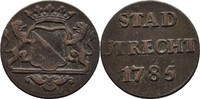 1 Duit 1785 Niederlande Utrecht ss  12,00 EUR  +  3,00 EUR shipping