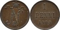 1 Penni 1900 Finnland Nikolaus II., 1894-1917 vz Kratzer  9,00 EUR  +  3,00 EUR shipping