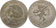 25 Pesos 1968 Mexiko Sommerolympiade - Maya Ballspieler vz+  14,00 EUR  +  3,00 EUR shipping