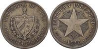 40 Centavos 1915 Kuba Fünfstrahliger Stern ss  35,00 EUR  +  3,00 EUR shipping