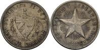 20 Centavos 1915 Kuba Fünfstrahliger Stern vz  50,00 EUR  +  3,00 EUR shipping