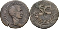 As 7-6 RÖMISCHE KAISERZEIT Augustus, 31 v. Chr. - 14 n. Chr. ss  80,00 EUR  +  3,00 EUR shipping