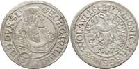 3 Kreuzer 1674 Schlesien Liegnitz Brieg Georg Wilhelm, 1672-1675 vz  175,00 EUR  zzgl. 3,00 EUR Versand