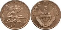 5 Francs 1977 Ruanda Essay - Probe Kaffeestrauch Stempelglanz  40,00 EUR  zzgl. 3,00 EUR Versand