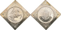 2 Pengö Klippe 1935 Ungarn  offen, Kontaktmarken, Haarkratzer, polierte... 140,00 EUR  plus 3,00 EUR verzending