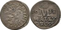 Maly Groschen 1618 RDR Böhmen Prag Matthias I./II., 1612-1618 ss  100,00 EUR  zzgl. 3,00 EUR Versand