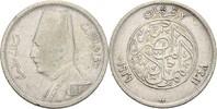 2 Piaster 1929 BP Ägypten Fuad I., 1922-36 fast ss  7,00 EUR  zzgl. 3,00 EUR Versand