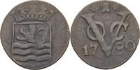 1 Duit 1780 Niederl. Ostindien Zeeland ss  20,00 EUR  zzgl. 3,00 EUR Versand